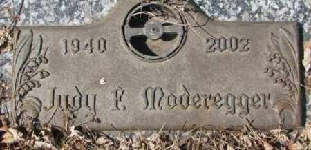 MODEREGGER, JUDY F. - Yankton County, South Dakota | JUDY F. MODEREGGER - South Dakota Gravestone Photos
