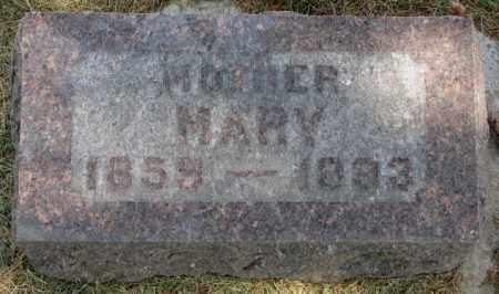 MODEREGGER, MARY - Yankton County, South Dakota   MARY MODEREGGER - South Dakota Gravestone Photos