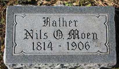 MOEN, NILS - Yankton County, South Dakota | NILS MOEN - South Dakota Gravestone Photos