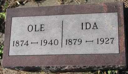 MOEN, IDA - Yankton County, South Dakota | IDA MOEN - South Dakota Gravestone Photos