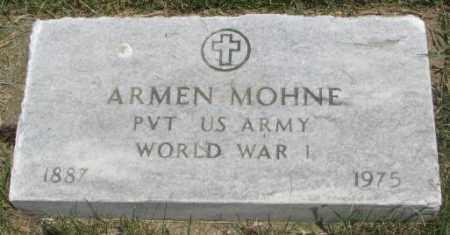 MOHNE, ARMEN (WW I) - Yankton County, South Dakota | ARMEN (WW I) MOHNE - South Dakota Gravestone Photos
