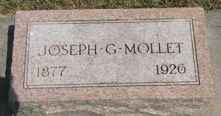 MOLLET, JOSEPH G. - Yankton County, South Dakota | JOSEPH G. MOLLET - South Dakota Gravestone Photos