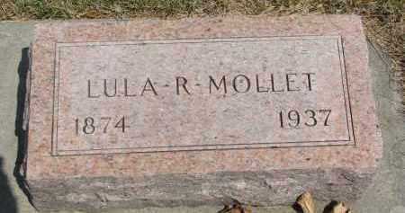 MOLLET, LULA R. - Yankton County, South Dakota | LULA R. MOLLET - South Dakota Gravestone Photos