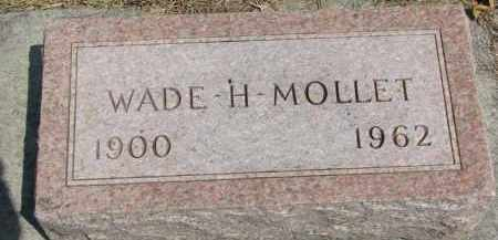 MOLLET, WADE H. - Yankton County, South Dakota | WADE H. MOLLET - South Dakota Gravestone Photos