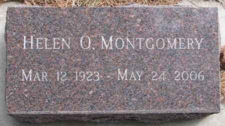 MONTGOMERY, HELEN O. - Yankton County, South Dakota   HELEN O. MONTGOMERY - South Dakota Gravestone Photos