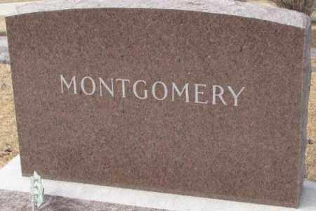MONTGOMERY, PLOT - Yankton County, South Dakota | PLOT MONTGOMERY - South Dakota Gravestone Photos