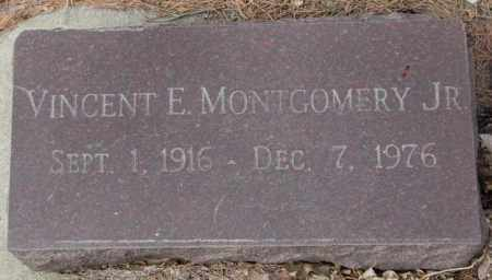MONTGOMERY, VINCENT E. JR. - Yankton County, South Dakota   VINCENT E. JR. MONTGOMERY - South Dakota Gravestone Photos