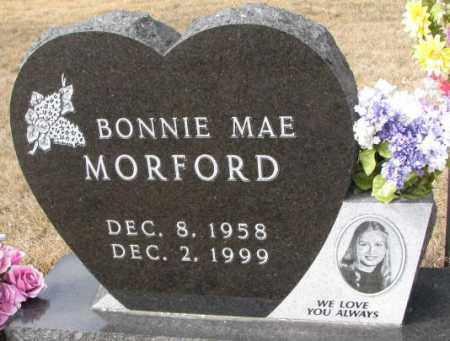MORFORD, BONNIE MAE - Yankton County, South Dakota   BONNIE MAE MORFORD - South Dakota Gravestone Photos