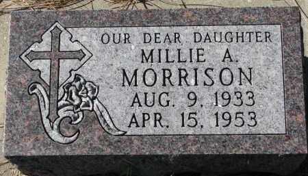 MORRISON, MILLIE A. - Yankton County, South Dakota   MILLIE A. MORRISON - South Dakota Gravestone Photos