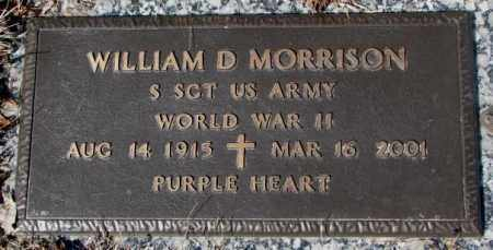 MORRISON, WILLIAM D. - Yankton County, South Dakota | WILLIAM D. MORRISON - South Dakota Gravestone Photos