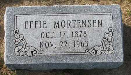 MORTENSEN, EFFIE - Yankton County, South Dakota   EFFIE MORTENSEN - South Dakota Gravestone Photos