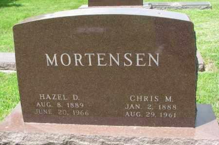 MORTENSEN, HAZEL D. - Yankton County, South Dakota | HAZEL D. MORTENSEN - South Dakota Gravestone Photos