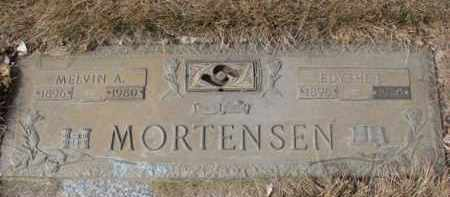 MORTENSEN, MELVIN A. - Yankton County, South Dakota | MELVIN A. MORTENSEN - South Dakota Gravestone Photos