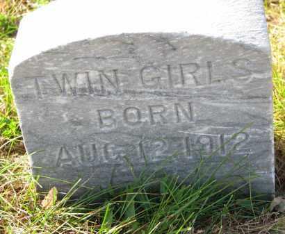 MORTENSEN, TWIN GIRL - Yankton County, South Dakota | TWIN GIRL MORTENSEN - South Dakota Gravestone Photos