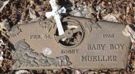 MUELLER, BABY BOY SONNY - Yankton County, South Dakota   BABY BOY SONNY MUELLER - South Dakota Gravestone Photos