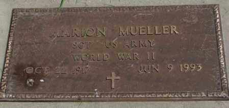 MUELLER, MARION (WW II) - Yankton County, South Dakota | MARION (WW II) MUELLER - South Dakota Gravestone Photos