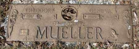 MUELLER, GENEVA - Yankton County, South Dakota | GENEVA MUELLER - South Dakota Gravestone Photos