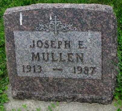 MULLEN, JOSEPH E. - Yankton County, South Dakota | JOSEPH E. MULLEN - South Dakota Gravestone Photos