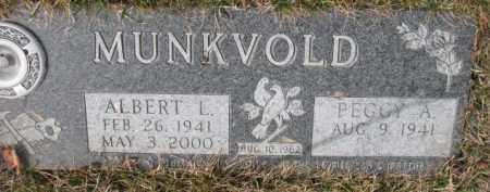 MUNKVOLD, ALBERT L. - Yankton County, South Dakota | ALBERT L. MUNKVOLD - South Dakota Gravestone Photos