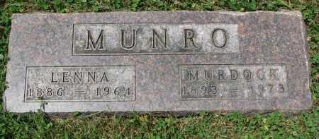 MUNRO, MURDOCK - Yankton County, South Dakota   MURDOCK MUNRO - South Dakota Gravestone Photos