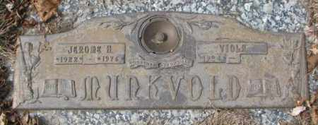 MURKVOLD, VIOLA - Yankton County, South Dakota | VIOLA MURKVOLD - South Dakota Gravestone Photos