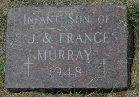MURRAY, INFANT - Yankton County, South Dakota | INFANT MURRAY - South Dakota Gravestone Photos