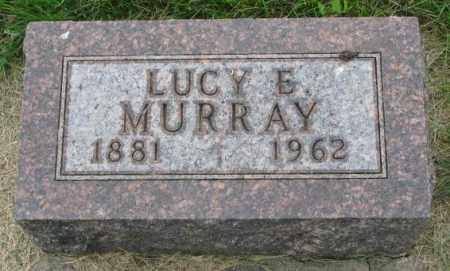 MURRAY, LUCY E. - Yankton County, South Dakota | LUCY E. MURRAY - South Dakota Gravestone Photos