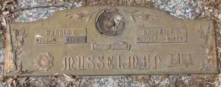 MUSSELMAN, HAROLD G. - Yankton County, South Dakota | HAROLD G. MUSSELMAN - South Dakota Gravestone Photos