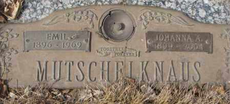 MUTSCHELKNAUS, EMIL - Yankton County, South Dakota | EMIL MUTSCHELKNAUS - South Dakota Gravestone Photos