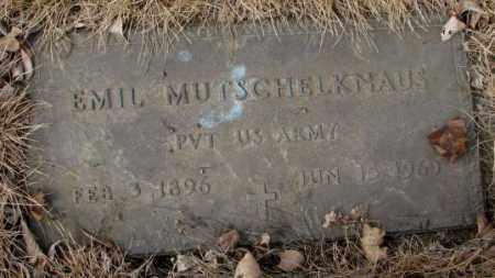 MUTSCHELKNAUS, EMIL - Yankton County, South Dakota   EMIL MUTSCHELKNAUS - South Dakota Gravestone Photos