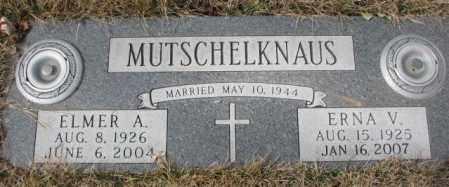MUTSCHELKNAUS, ERNA V. - Yankton County, South Dakota | ERNA V. MUTSCHELKNAUS - South Dakota Gravestone Photos