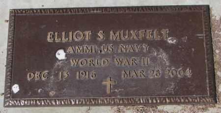 MUXFELT, ELLIOT S. (WW II) - Yankton County, South Dakota | ELLIOT S. (WW II) MUXFELT - South Dakota Gravestone Photos