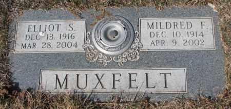 MUXFELT, MILDRED F. - Yankton County, South Dakota | MILDRED F. MUXFELT - South Dakota Gravestone Photos