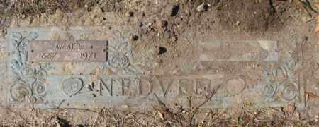 NEDVED, AMALIE - Yankton County, South Dakota | AMALIE NEDVED - South Dakota Gravestone Photos