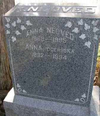 NEDVED, ANNA - Yankton County, South Dakota | ANNA NEDVED - South Dakota Gravestone Photos