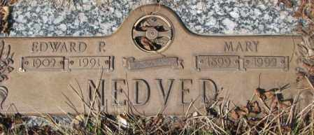 NEDVED, MARY - Yankton County, South Dakota | MARY NEDVED - South Dakota Gravestone Photos