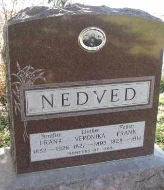 NEDVED, VERONIKA - Yankton County, South Dakota | VERONIKA NEDVED - South Dakota Gravestone Photos