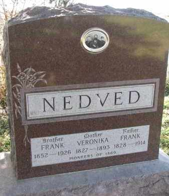 NEDVED, FRANK - Yankton County, South Dakota | FRANK NEDVED - South Dakota Gravestone Photos