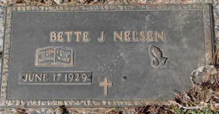 NELSEN, BETTE J. - Yankton County, South Dakota | BETTE J. NELSEN - South Dakota Gravestone Photos