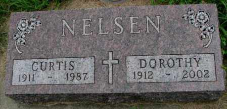 NELSEN, CURTIS - Yankton County, South Dakota | CURTIS NELSEN - South Dakota Gravestone Photos