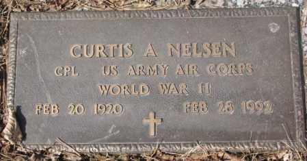 NELSEN, CURTIS A. - Yankton County, South Dakota   CURTIS A. NELSEN - South Dakota Gravestone Photos