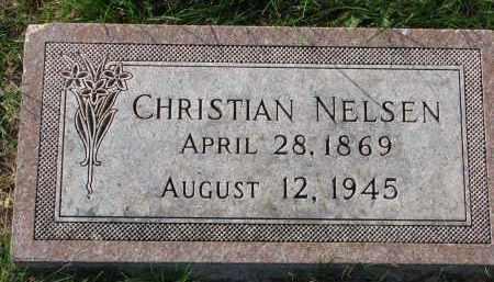 NELSEN, CHRISTIAN - Yankton County, South Dakota | CHRISTIAN NELSEN - South Dakota Gravestone Photos