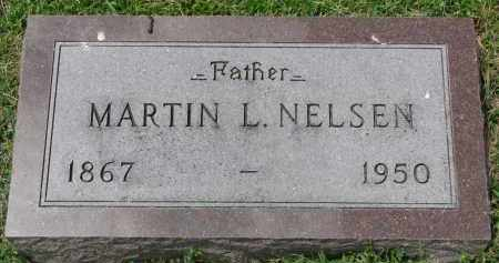 NELSEN, MARTIN L. - Yankton County, South Dakota | MARTIN L. NELSEN - South Dakota Gravestone Photos