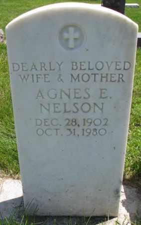 NELSON, AGNES E. - Yankton County, South Dakota | AGNES E. NELSON - South Dakota Gravestone Photos