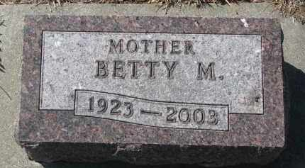 NELSON, BETTY M. - Yankton County, South Dakota | BETTY M. NELSON - South Dakota Gravestone Photos