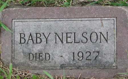 NELSON, BABY - Yankton County, South Dakota | BABY NELSON - South Dakota Gravestone Photos
