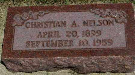 NELSON, CHRISTIAN A. - Yankton County, South Dakota | CHRISTIAN A. NELSON - South Dakota Gravestone Photos