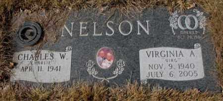 NELSON, VIRGINIA A. - Yankton County, South Dakota   VIRGINIA A. NELSON - South Dakota Gravestone Photos