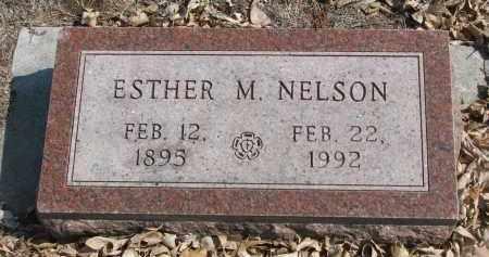 NELSON, ESTHER M. - Yankton County, South Dakota | ESTHER M. NELSON - South Dakota Gravestone Photos