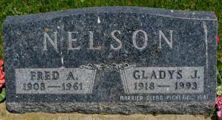 NELSON, GLADYS J. - Yankton County, South Dakota | GLADYS J. NELSON - South Dakota Gravestone Photos